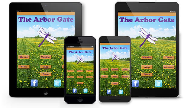 The Arbor Gate Is Just A Touch Away. Houstonu0027s Premier Garden Center, Now  In An App!