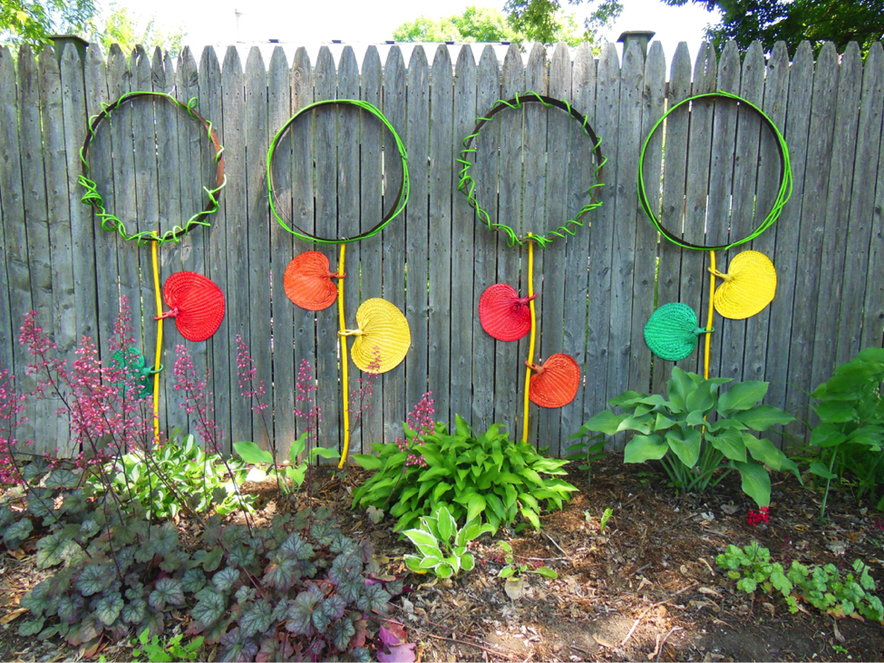 Barrel Stay Flower Art For Your Garden