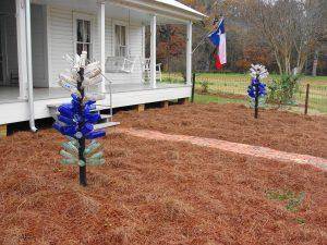 2. Bluebonnet Bottle Trees