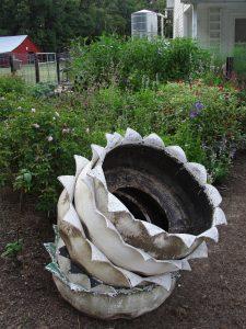 5. Rose garden