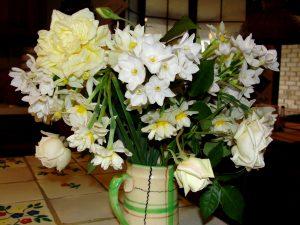 1. Christmas bouquet