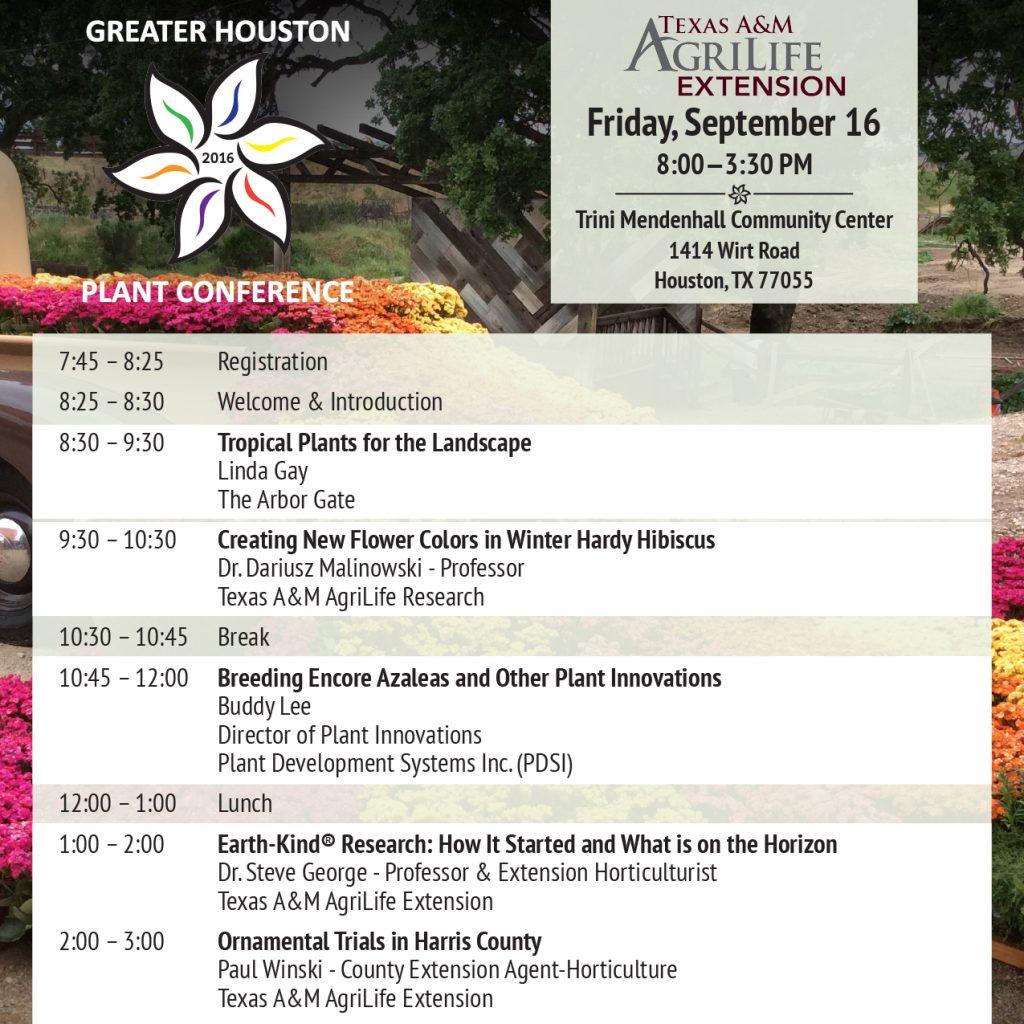Houston Plant Conference