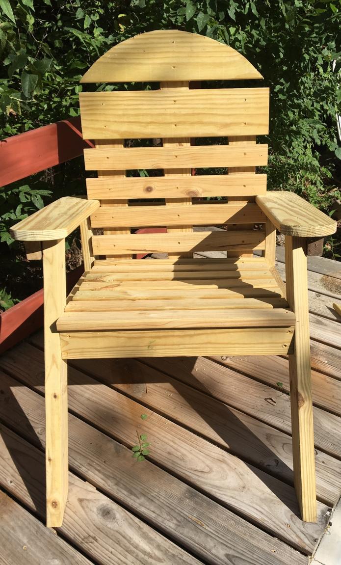 Texas Tough Adirondack Chair